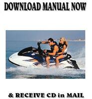 2004 Yamaha GP1300R Waverunner factory repair shop service manuals on CD