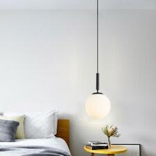 Glass Pendant Light Black Bar Lamp Lobby Ceiling Lights Kitchen Pendant Lighting