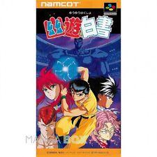 YU YU HAKUSHO  - SNES SUPER NINTENDO   JAP/JPN  NTSC-J VERSION  SFC