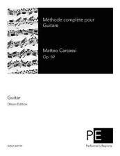Méthode Complète Pour Guitare by Matteo Carcassi (2015, Paperback)