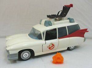 Vintage Real Ghostbusters ECTO-1 Vehicle Car Near Complete Kenner 1987 RGB