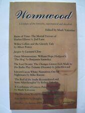 Mark Valentine [Ed.] - WORMWOOD No. 12 (Spring 2009) – Tartarus Press