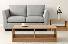 Coffee Table Living Room Furniture Modern Design With Shelf Oak Retro Vintage