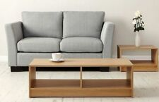 Coffee Table Living Room Furniture Modern Design With Shelf Oak Retro