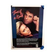 TWO OF A KIND Travolta Oliva Newton John Original Home Video Poster