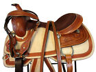16 15 CUSTOM MADE WESTERN SADDLE ROPING ROPER HORSE PLEASURE TOOLED LEATHER TACK