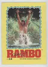 1985 Topps Rambo: First Blood Part II Stickers #12 Non-Sports Card 1i6