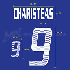 GREECE Away EURO 2004 PRINT FREE SHIPPING EXCELLENT QUALITY