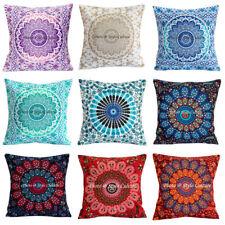 """Hippie Mandala Cushion Cover Indian Sofa Pillowcase Cover sofa Pillows Throw 16"""""""