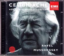 Sergiu CELIBIDACHE: MUSSORGSKY Pictures at an Exhubition RAVEL Bolero CD Bilder