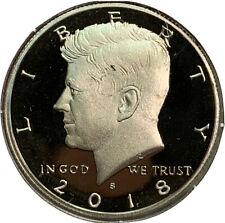 2018 S Proof Kennedy Half Dollar 50¢ Cent US Coin CV624