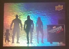 Upper Deck GUARDIANS OF THE GALAXY Vol 2 Complete RAINBOW FOIL Set (90 Cards)