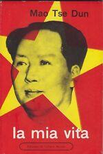 Mao Tse Dun, La mia vita, Edizioni di cultura sociale, biografia, Cina, politica