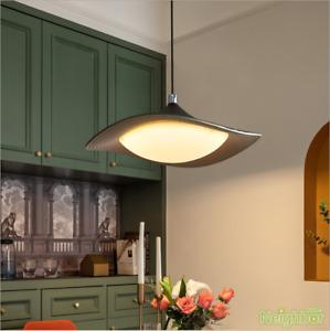 Modern Flying Saucer LED Pendant Lamp Frisbee Ceiling Light Chandelier Lighting