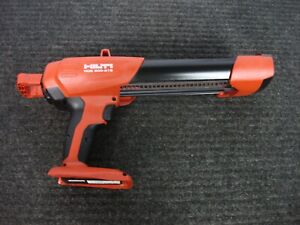 HILTI HDE 500-A18 CORDLESS ADHESIVE MORTAR DISPENSER TOOL ONLY