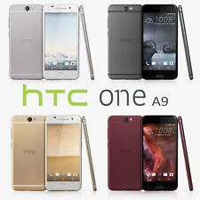"""New *UNOPENED*  HTC A9 5.0"""" AT&T T-MOBILE Unlocked Smartphone/Deep Garnet/32GB"""