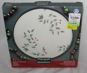 "Pfaltzgraff Winterberry Dishware Microwave Safe 8"" Inch 20.3 cm Trivet 5058200"