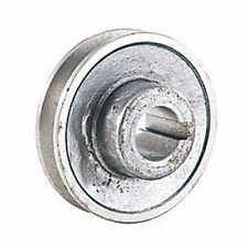 Poulie en alu pour moteur electrique diam 80 à 160 mm - axe 19 - 24 - 28 mm