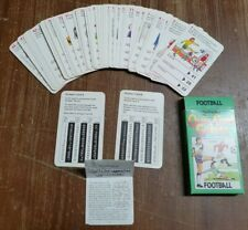 1979 Quiz Card Games Football Waddingtons Vintage Collectors Item Full Pack