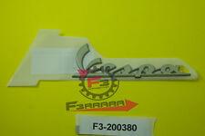 F3-200380 Targhetta Anteriore VESPA S - LX 50 125 150  RESINATA ADESIVA