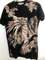 STELLA MCCARTNEY black cat T-shirt