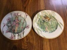 Heinrich Villeroy &Boch Fairies of the Fields Ragged Robin & Willow 8-1/2� Plate