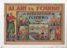 Alain la Foudre. COLLECTION VICTOIRE n°12. SAGE 1947. La rédemption de Flaminius