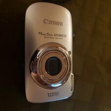 Canon PowerShot Digital ELPH SD960 IS 12.1MP Digital Camera