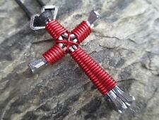 NAIL CROSS NECKLACES- (10 PACK) *SHIPS FREE GREAT GIFTS FOR VBS*  Pick any 10