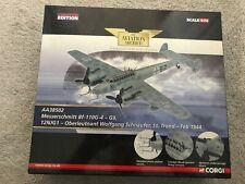 """Corgi Aviation Archiver Messerschmitt Bf110-G4 AA38502 Schaufer """"night ghost"""""""