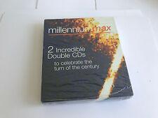 MILLENNIUM MAX 2 Incredible Double CDs CHRISTMAS THE ALBUM/CELEBRATION 2000 *NEW