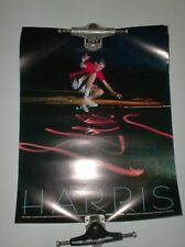 """New cond Orig.Vintage poster // Exc No Skateboards // 22 1//2 x 29 3//4/"""""""