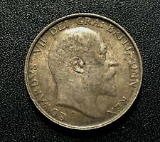 Great Britain 1902 Shilling Silver Coin:   Edward VII