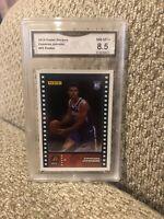 Cameron Johnson Rookie 2019 Panini Stickers Graded 8.5 Phoenix Suns
