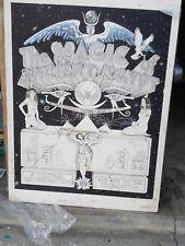 1979 Book Art Phoenix and Arabeth Original Copy for Ray Knight 30 x 20 circa