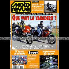 MOTO REVUE N°3352 YAMAHA TDM 850 CAGIVA 900 GRAN CANYON SUPERCROSS BERCY 1998