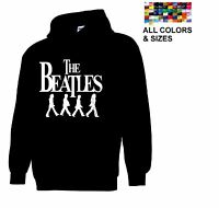 Beatles Band Retro Sweatshirt Abbey Road Men's Paul & John hoodie Multi-Color