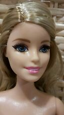 Fashionistas Barbie doll with rooted eyelashes. Fully posable. New 2016