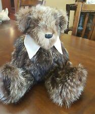 """Ooak Desert Rose Bears #176 handmade Helen Crandall artist bear raccoon fur 17"""""""