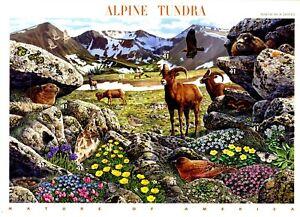 ALPINE TUNDRA Full Sheet of 10 MNH STAMPS Scott's 4198