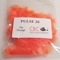 Flu Orange Pulse 20 Fritz Fly Tying Materials