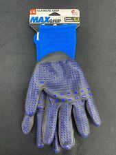 94BL MidWest Quality Gloves, Inc. Mens Large Blue Nylon Garden Gloves