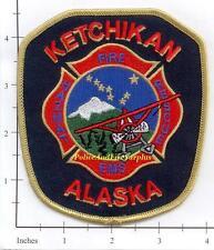 Alaska - Ketchikan Fire Rescue EMS AK Fire Dept Patch