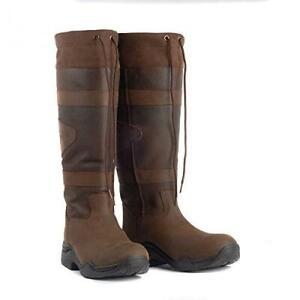 Toggi Women Canyon Long Leather Boot Chocolate Size 39