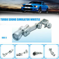 Turbo sound fischio Marmitta Tubo Di Scarico BOV Blow-Off Valvola simulatore POP