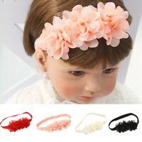 Fashion Beauty Sweet Kids Girls Baby Headbands Flower Elasticband Hair Band