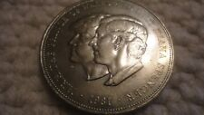 1981 Princess Diana & Prince Charles Commemorative Coin,  Free shipping