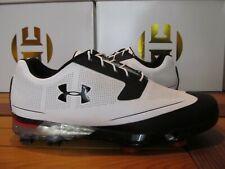 Under Armour UA Tour Tips $170 Black White Rd 11.5 1288575 101 Golf Shoes spieth