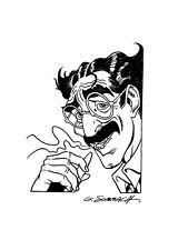 ***Dylan Dog - Groucho - Disegno originale di giorgio SOMMACAL!!!
