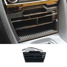 For Honda Civic 2016-2019 Carbon Fiber Inner Console Storage Box w/USB Interface